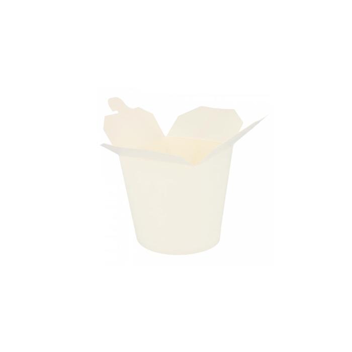 Contenitore per noodles in carta bianca cl 78