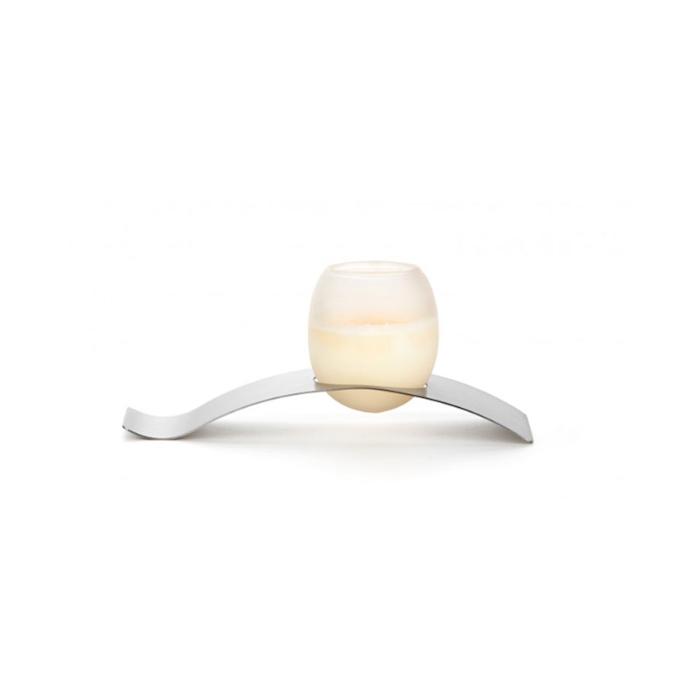 Bicchiere uovo 100% Chef in vetro borosilicato satinato cl 6,5