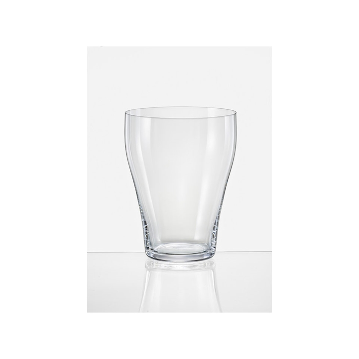 Bicchiere acqua frizzante Umana Rona in vetro soffiato a macchina cl 43