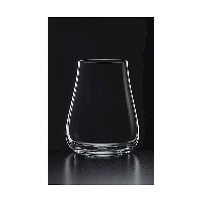 Bicchiere acqua naturale Umana Rona in vetro soffiato a macchina cl 50