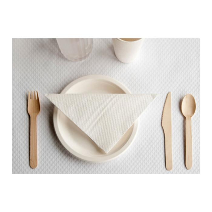 Forchetta Makan monouso in legno cm 15,5
