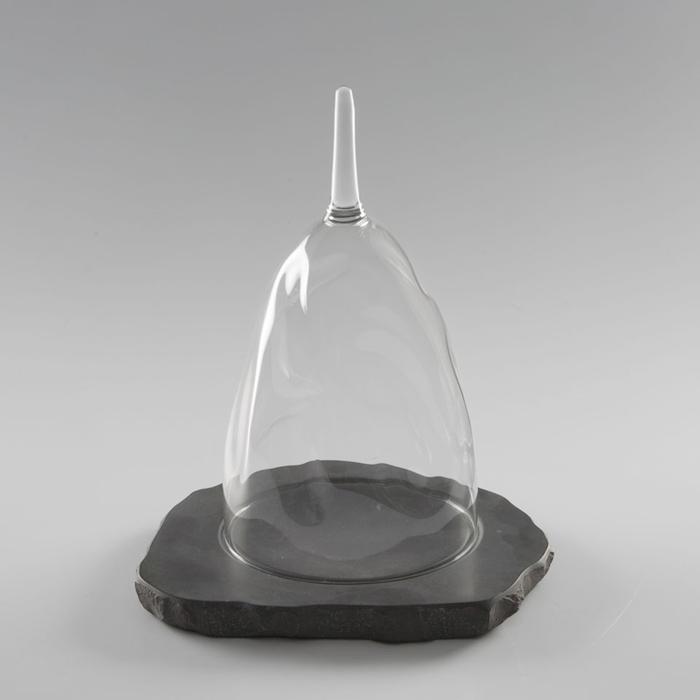 Cupola Isomalt 100% Chef in vetro borosilicato cm 24x14