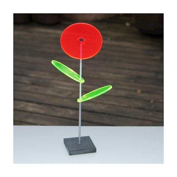 Fiore Lilly Friends Cazador del Sol rosso cm 27x8