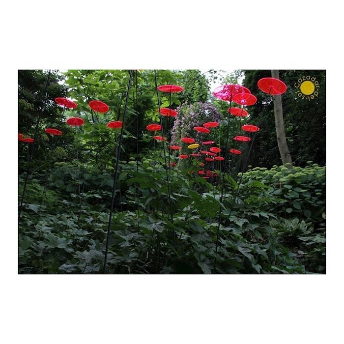 Fiore Disco Uno Cazador del Sol rosso cm 175x20