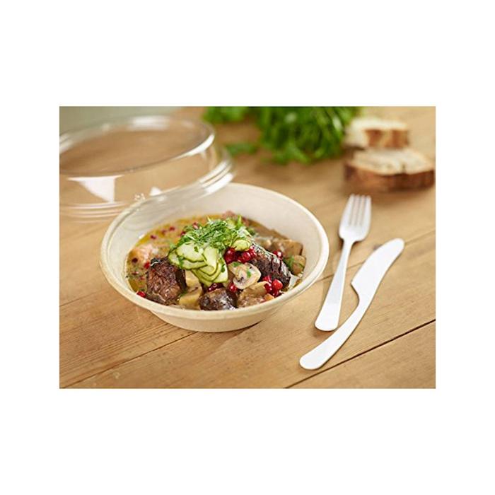 Contenitore tondo Duni soup bowl Brune in bagassa cl 80