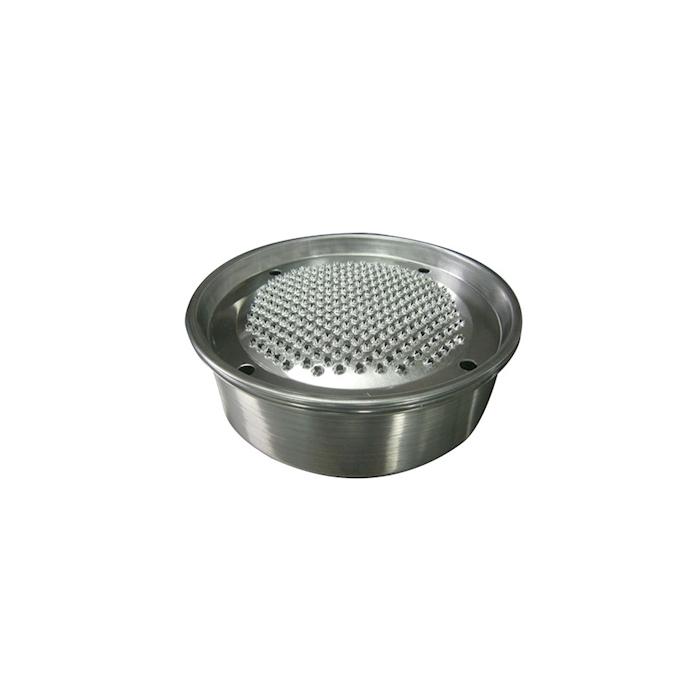 Grattugia con contenitore in alluminio cm 14
