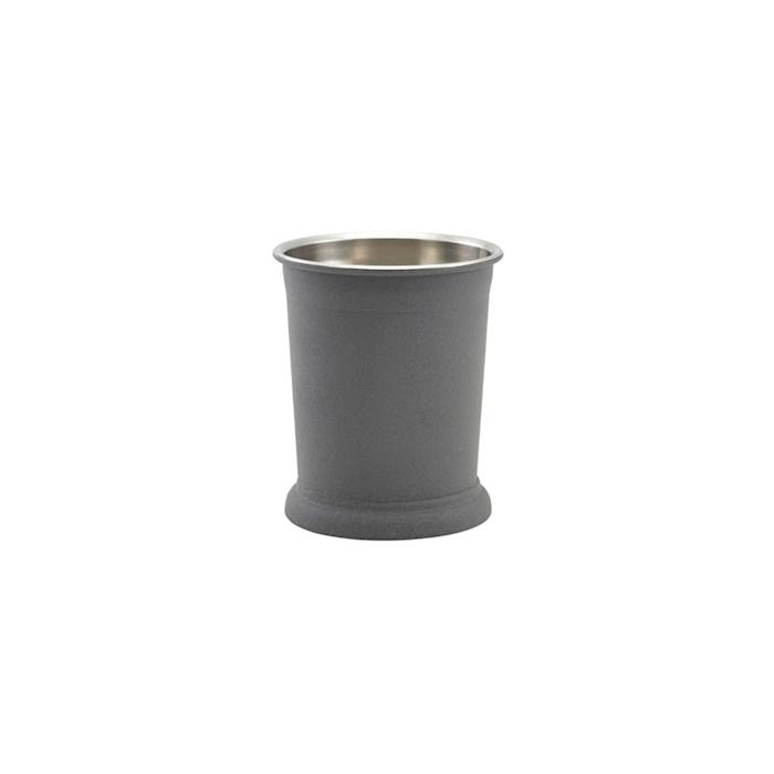 Bicchiere mint julep in acciaio inox effetto ferro cl 38,5