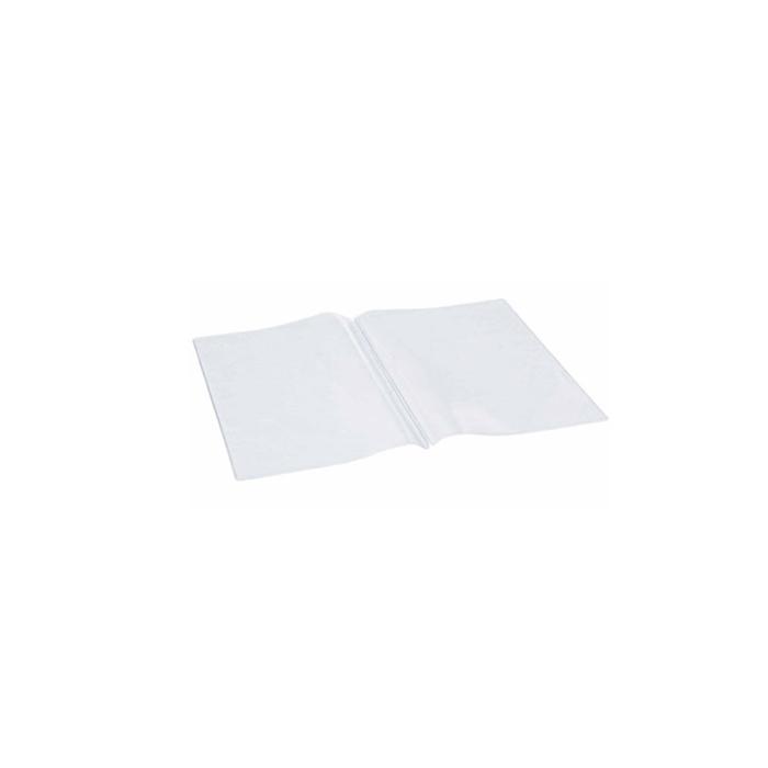 Busta per fogli menù quadri in plastica trasparente