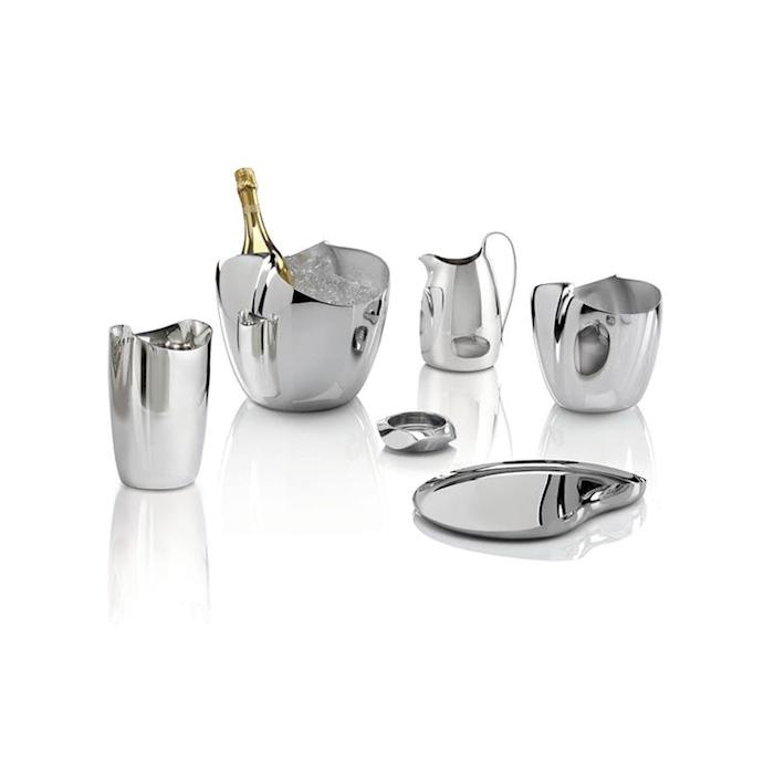 Secchiello vino/champagne Drift Robert Welch in acciaio inox cm 23,5x19