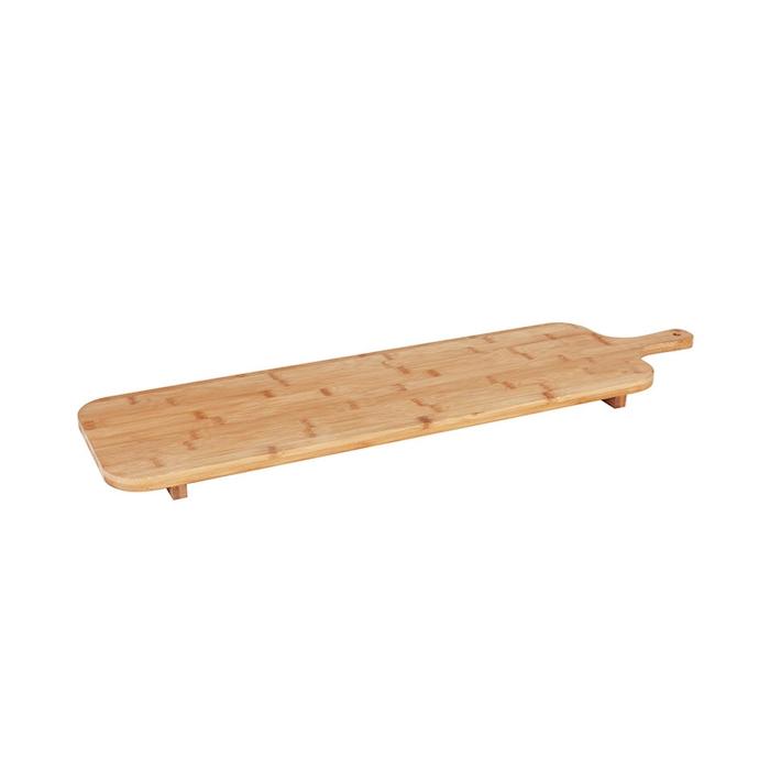 Tagliere con manico in bamboo cm 75x20x3