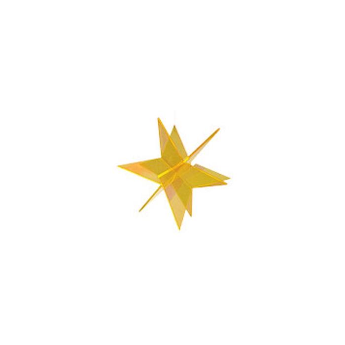 Stella 3D Cazador del Sol gialla cm 13