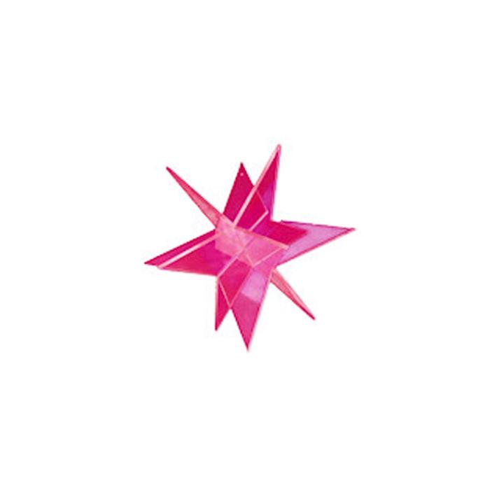 Stella 3D Cazador del Sol rossa cm 20