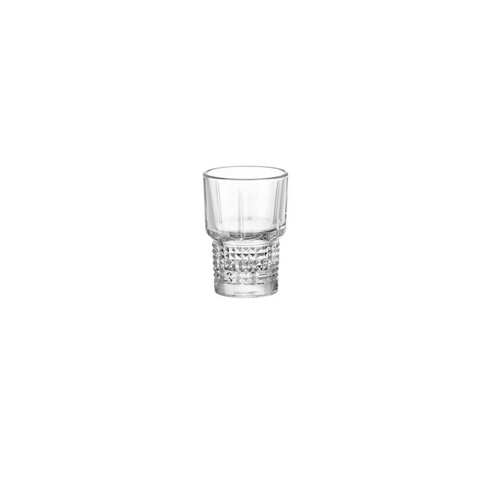 Bicchiere shot Novecento Bormioli Rocco in vetro cl 7,7