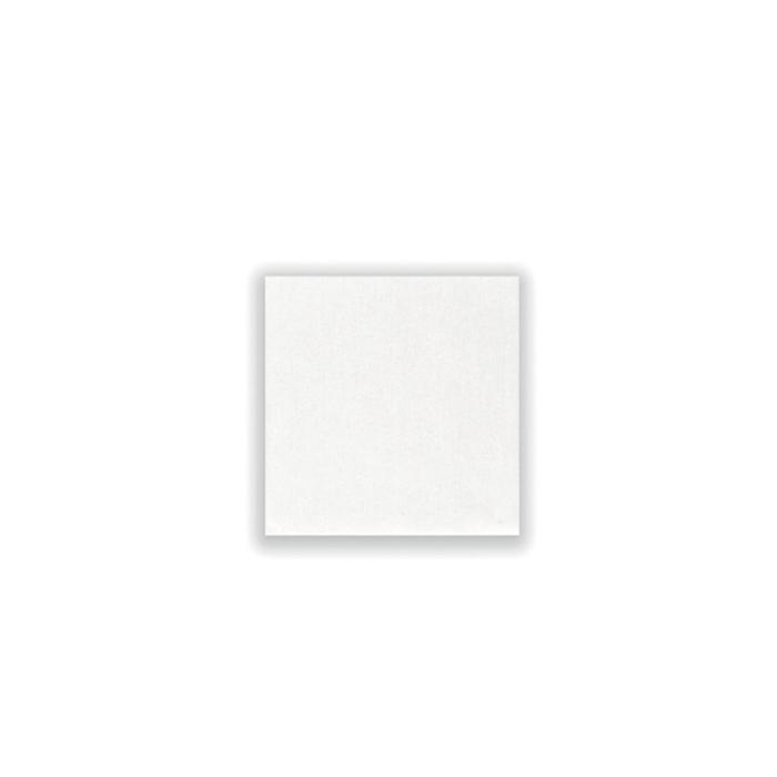 Tovagliolo Bio in spunlace bianco cm 25x25