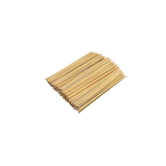 Stecconi monouso in bamboo biodegradabile cm 15