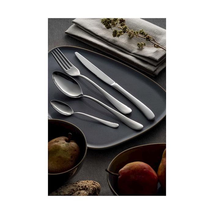 Forchetta tavola Charme in acciaio inox cm 21,2
