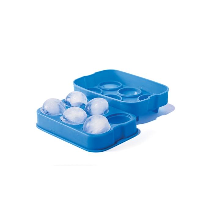 Stampo ghiaccio 6 sfere Hendi in silicone blu cm 18x12x5
