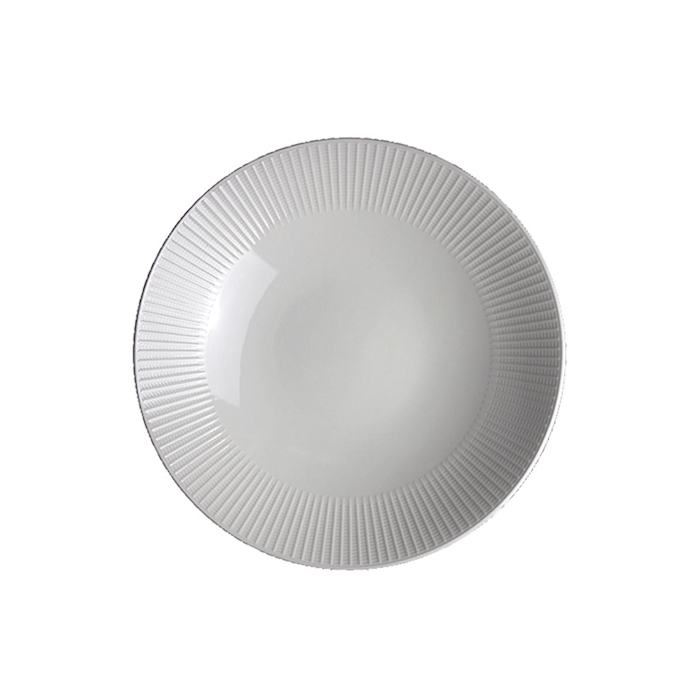 Piatto coupe Willow Distinction Steelite in ceramica vetrificata cm 28
