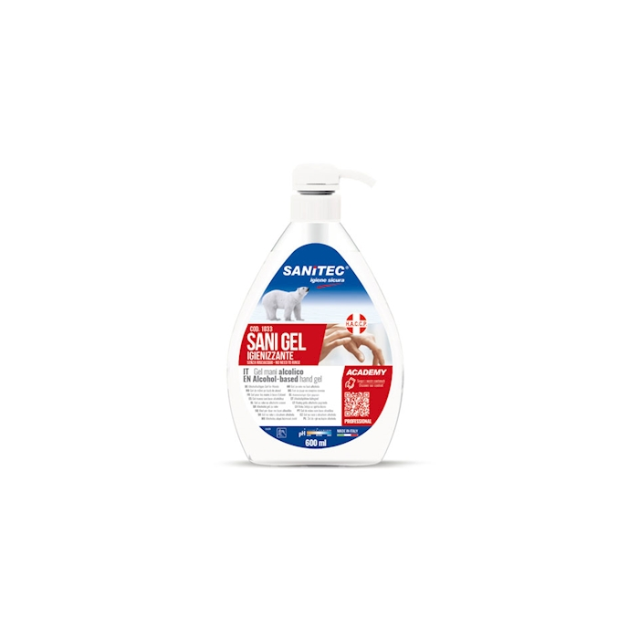 Sani gel alcolico igienizzante mani cl 60