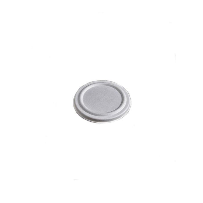 Coperchio con foro per coppetta soupe in polpa di cellulosa cm 13