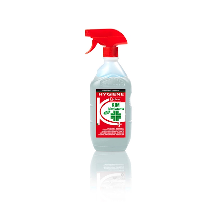 Kim igienizzante Kimicar spray per superfici cl 80