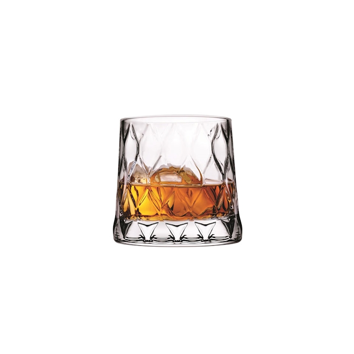 Bicchiere whisky Leafy in vetro cl 30