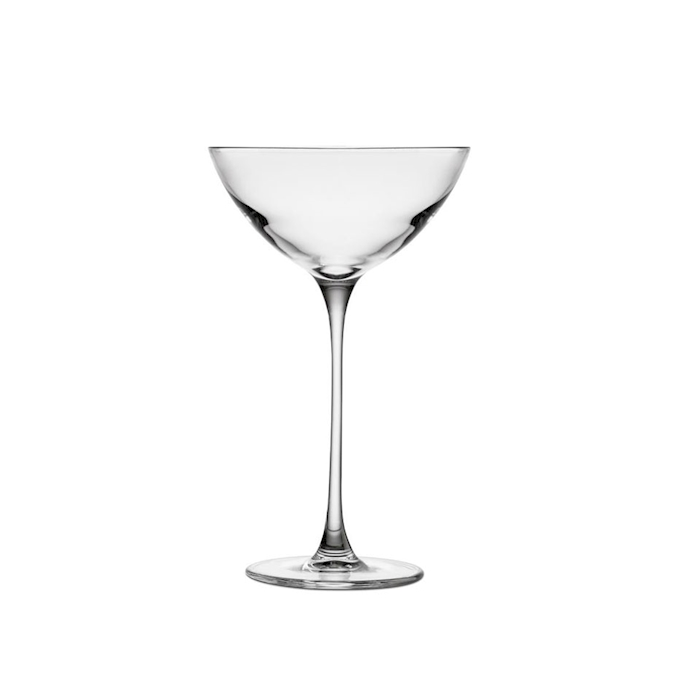 Coppa champagne Savage Nude in vetro cl 17