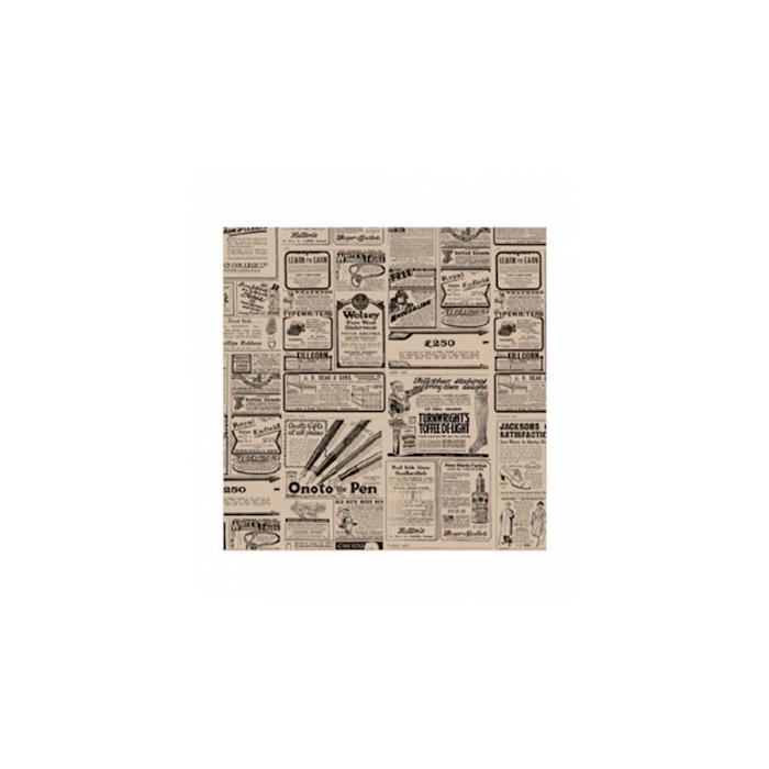 Fogli per alimenti Decoro Time in carta antigrasso cm 31x31