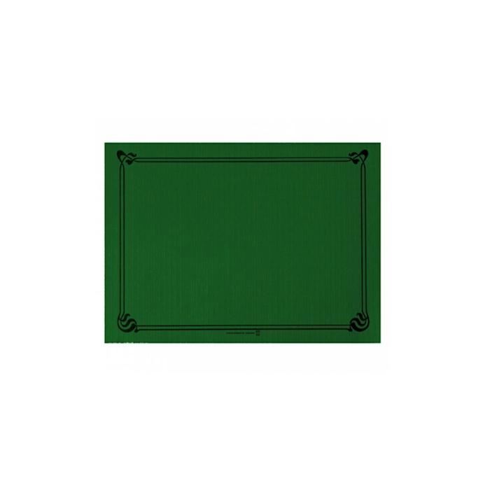 Tovagliette in cellulosa verde giaguaro cm 31x43