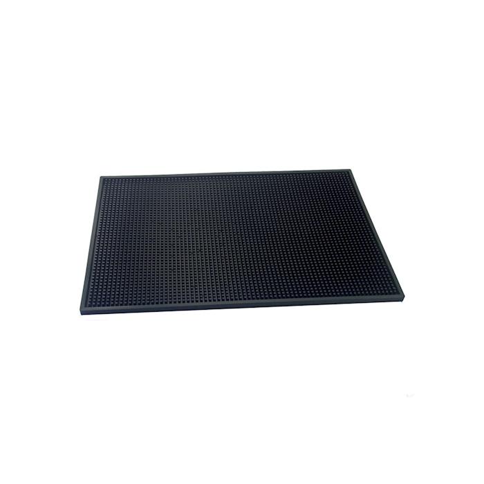 Bar mat in gomma 100% naturale nera cm 45x30
