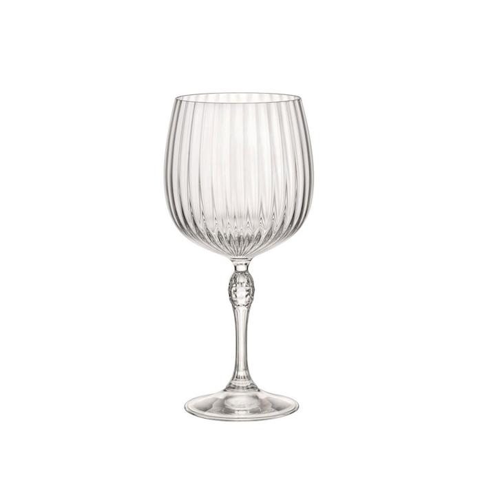 Calice gin tonic America '20s in vetro cl 74,5