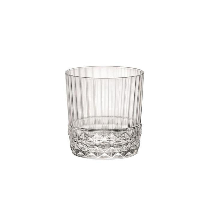 Bicchiere dof America '20s in vetro cl 37