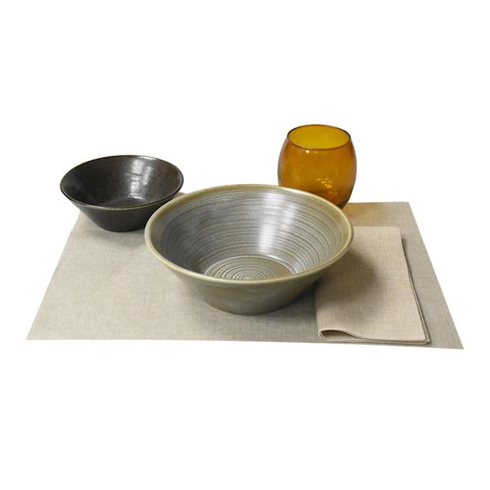 Tovaglietta Easy in cellulosa tortora cm 30x40