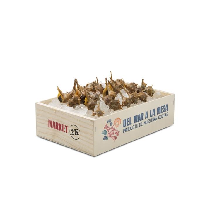 Cassetta sea food 100% Chef in legno cm 30x20