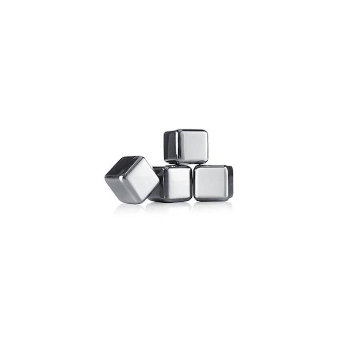 Cubetto perpetuo per whisky Vacu Vin in acciaio inox cm 2,6