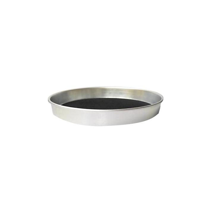 Vassoio tondo antiscivolo in alluminio cm 38,6