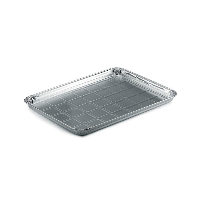 Vassoio rettangolare in alluminio cm 44,5x33x2,6