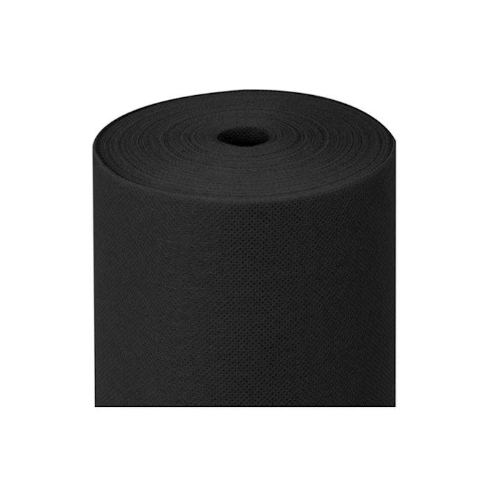 Rotolo tovaglia pretagliato in spunbond nero mt 50,4x1,2