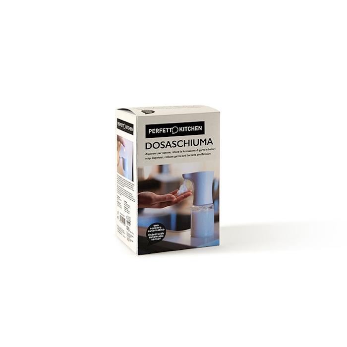 Dispenser sapone dosaschiuma bianco elettrico