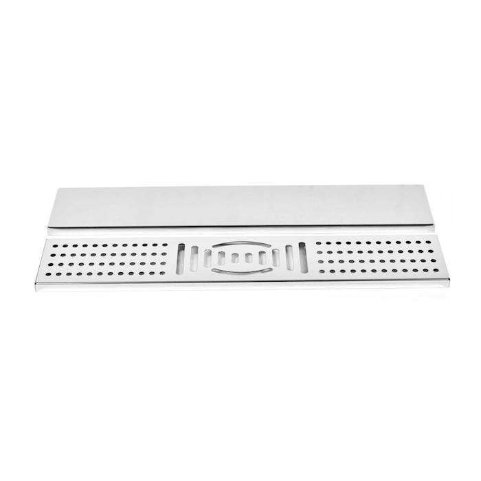 Bar mat con griglia in acciaio inox cm 60