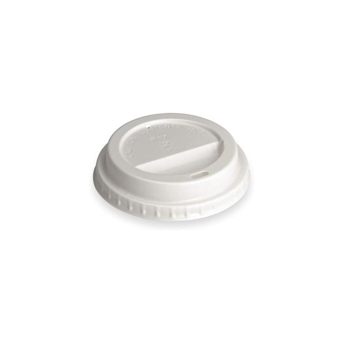Coperchio in plastica bianca cm 8
