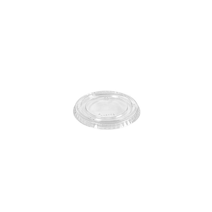 Coperchio per coppetta in pet trasparente cm 8