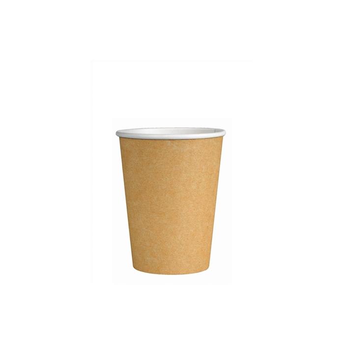 Bicchiere tè in cartoncino avana cl 21