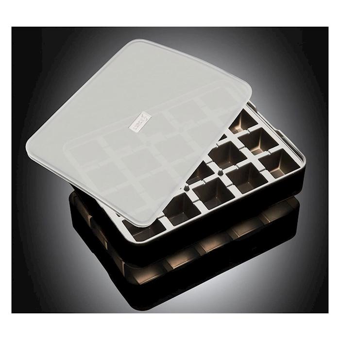 Stampo ghiaccio cubo in silicone nero cm 3x3