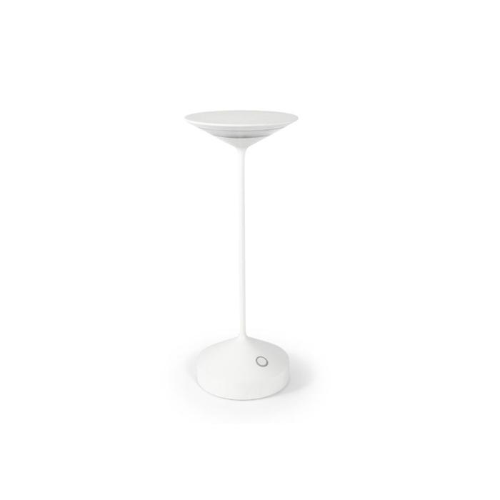 Lampada a led Tempo in alluminio bianca