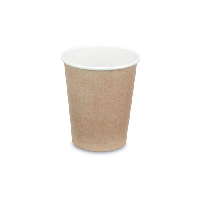 Bicchiere cappuccino in carta kraft cl 30
