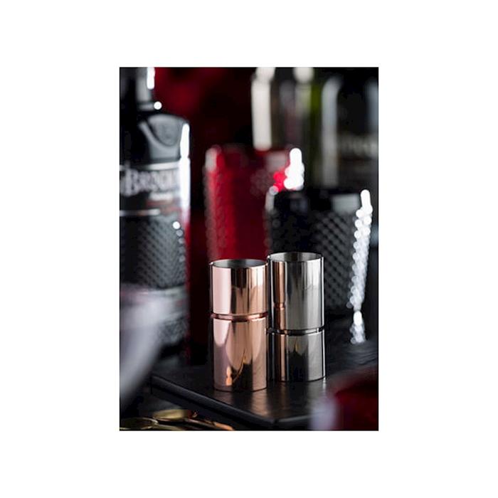Jigger Sided in acciaio inox ramato ml 30-45