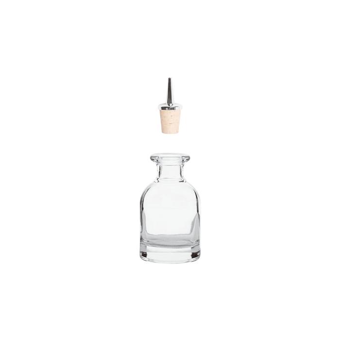 Dash bottle in vetro senza tappo cl 10