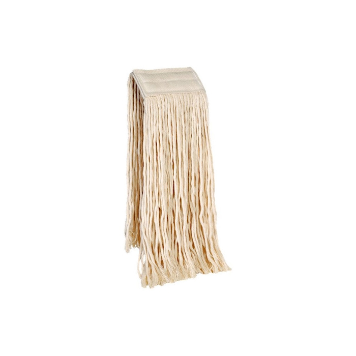 Mop per pavimenti in cotone bianco gr 400