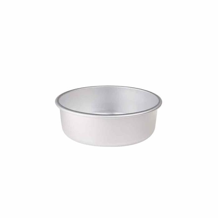 Tortiera conica Agnelli in alluminio con orlo cm 32